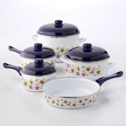 Metalac 9-pc. Enamel Cookware Set