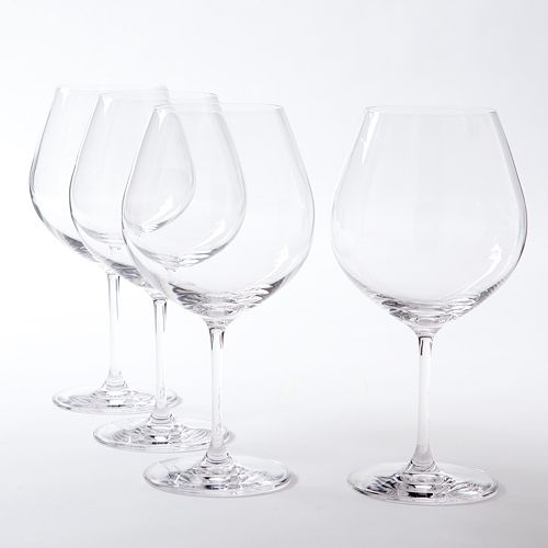 Lenox Vicenza 4-pc. Burgundy Wine Glass Set