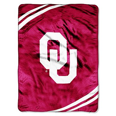 Oklahoma Sooners 60 x 80 Micro Super Plush Throw Blanket by Northwest