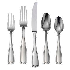 Oneida Carolina 18/10 Stainless Steel 65 pc Flatware Set