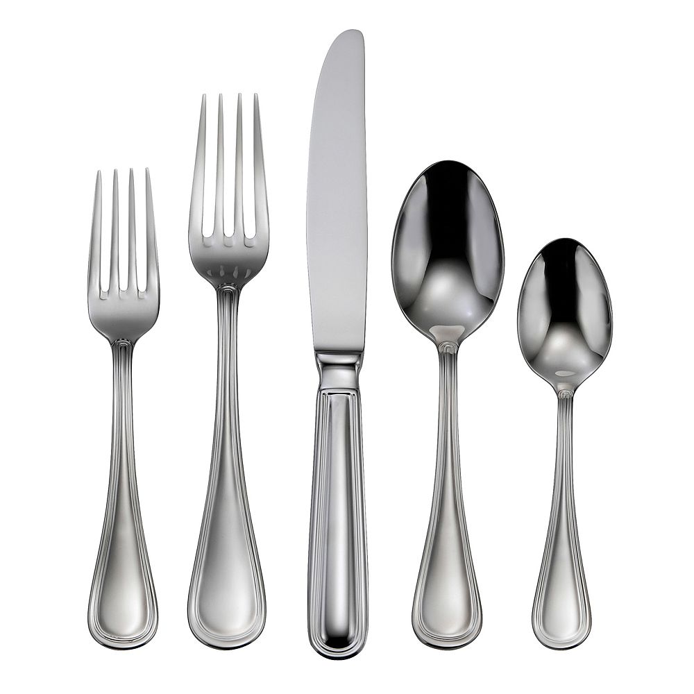 Oneida Omnia 1810 Stainless Steel 62 Pc Flatware Set