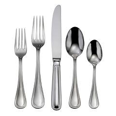 Oneida Omnia 18/10 Stainless Steel 62 pc Flatware Set