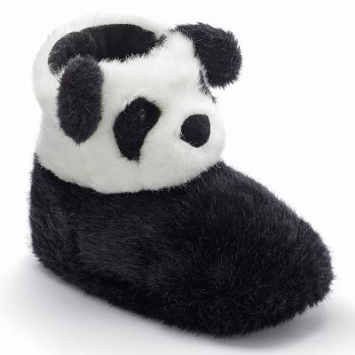 SO Panda Bootie Slippers - Women