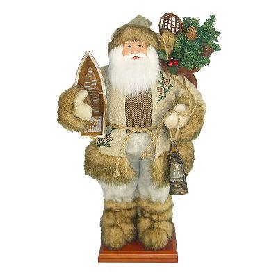 St nicholas lodge santa figurine ebay
