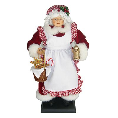 St. Nicholas Square Baking Mrs. Clause Figurine