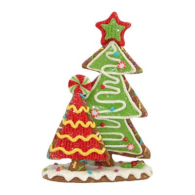 St. Nicholas Square Clay Christmas Tree Cookies