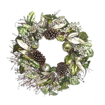 St. Nicholas Square Christmas Wreath