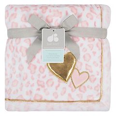 Just Born Pink Cheetah Blanket
