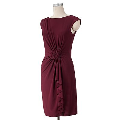 Ronni Nicole Rosette Shift Dress
