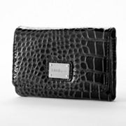 Nine and Co. Norfolk Crocodile Indexer Wallet