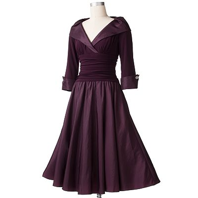 Jessica Howard Iridescent Taffeta Dress
