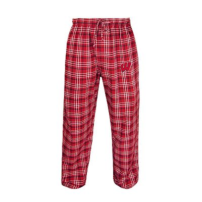 College Concepts Wisconsin Badgers Flannel Pant