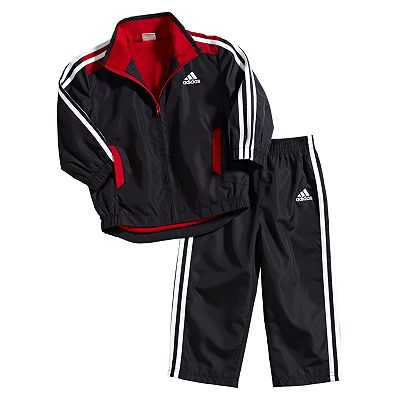 adidas Track Jacket and Pants Set - Toddler