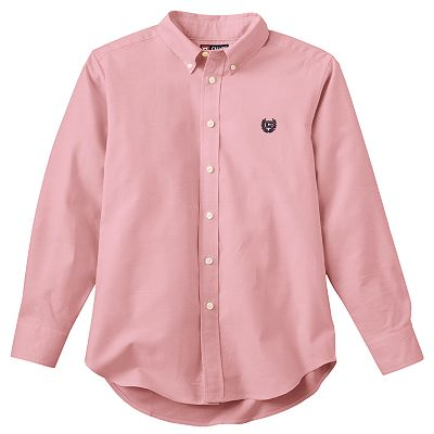 Chaps Oxford Button-Down Shirt - Boys 8-20