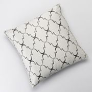 Jennifer Lopez bedding collection Instinct Embroidered Decorative Pillow