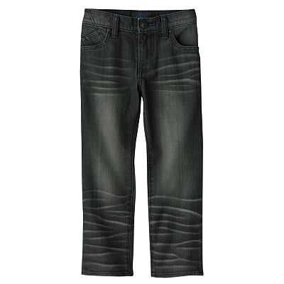 Rock and Republic Lead Slim Straight-Leg Jeans - Boys 4-7x