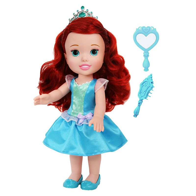 Disney Princess My First Toddler Ariel Doll, Multicolor