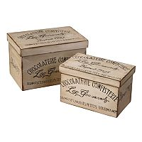 Chocolaterie 2 pc Box Set