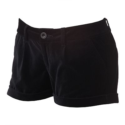 SO Velvet Shortie Shorts - Juniors