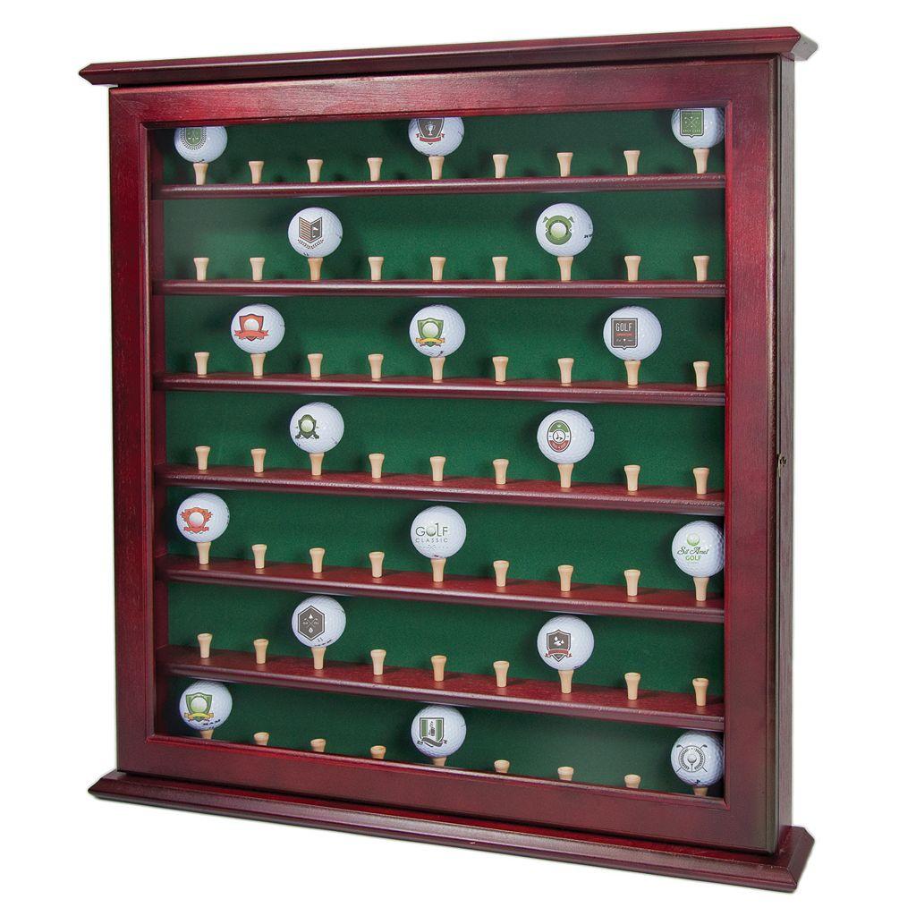 Club Champ 63-Golf Ball Display Cabinet