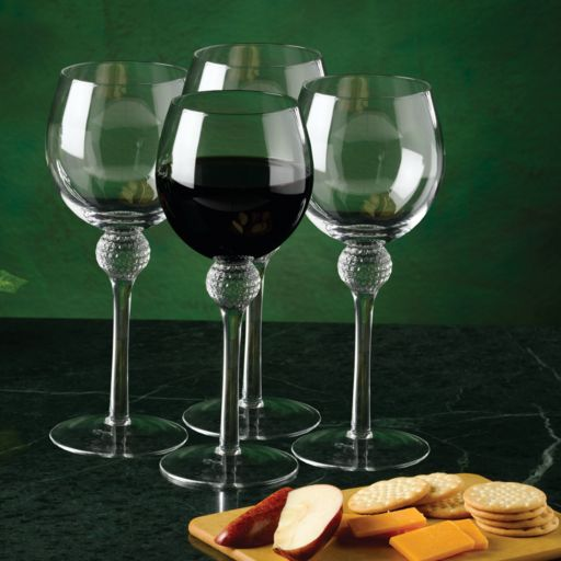 Club Champ 4-pc. Golf Wine Glass Set