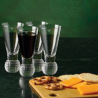 Club Champ 4-pc. Golf Shot Glass Set