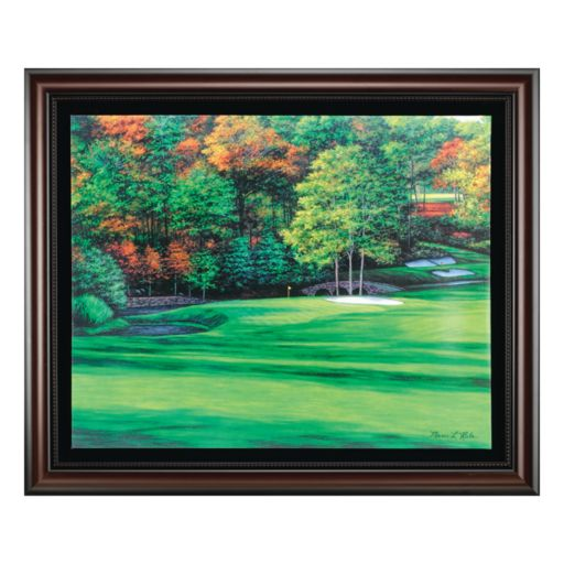Augusta 11 White Dogwood Framed Wall Art
