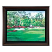Augusta 13 Azalea Framed Canvas