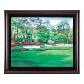 Augusta 13 Azalea Framed Canvas