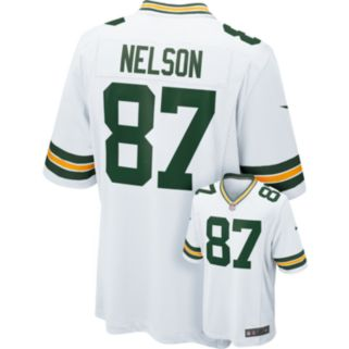Nike Green Bay Packers Jordy Nelson Game NFL Replica Jersey