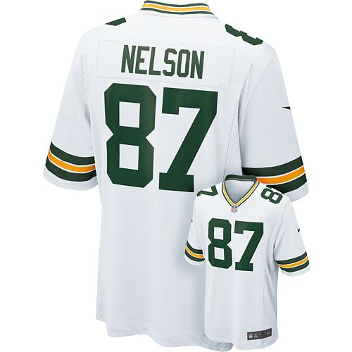 official photos 1722c e3b0f Nike Green Bay Packers Jordy Nelson Game NFL Replica ...