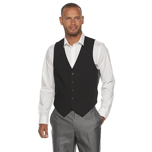 Men's Billy London Solid Vest