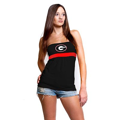 Chicka-d Georgia Bulldogs Tube Top