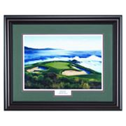 Pebble Beach 7 Framed Wall Art