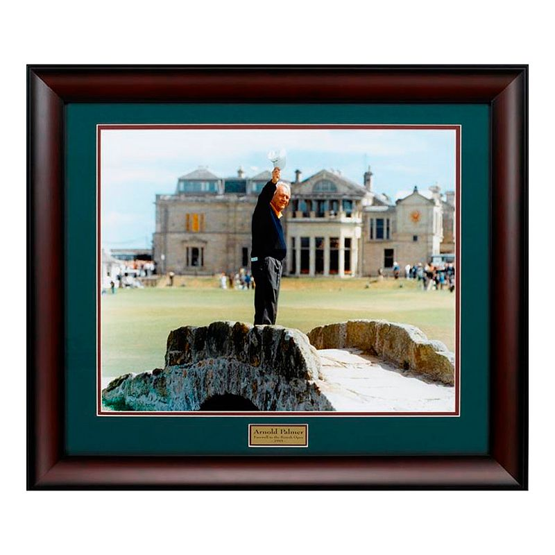 Arnold Palmer Farewell to St. Andrews Framed Photo