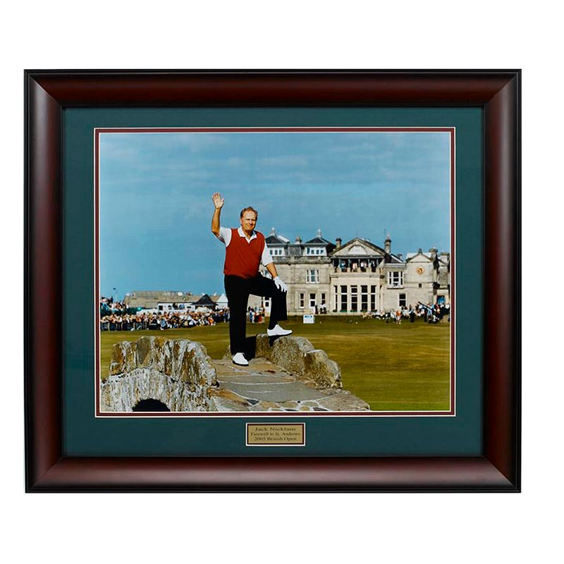 Jack Nicklaus Farewell to St. Andrews Framed Photo