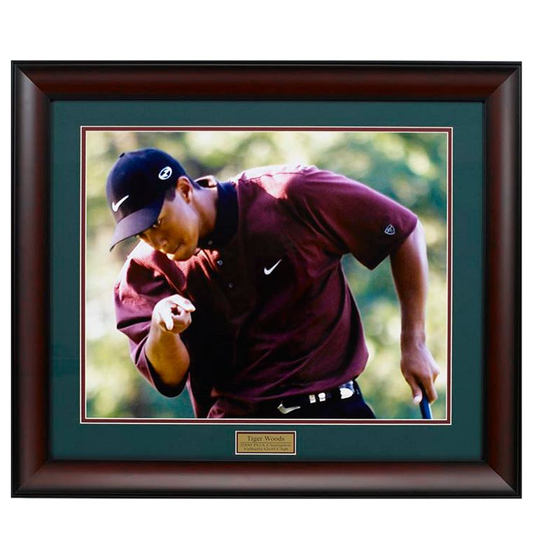 Golf Gifts Gallery Framed Print - Tiger Woods-2000 PGA Champion
