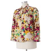Apt. 9 Watercolor Shirt - Women's Plus