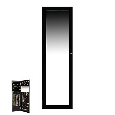 Over-The-Door Mirrored Jewelry Cabinet