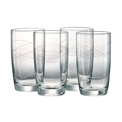 Artland Currents 4-pc. Highball Glass Set