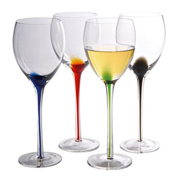 Artland Splash 4-pc. Wine Glass Set