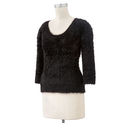 Apt. 9 Faux-Fur Sweater