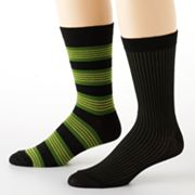 2-pk. Striped Crew Socks