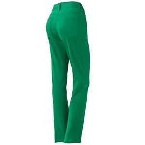 Dana Buchman Sateen Skinny Pants
