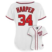 Majestic Washington Nationals Bryce Harper Jersey - Women's