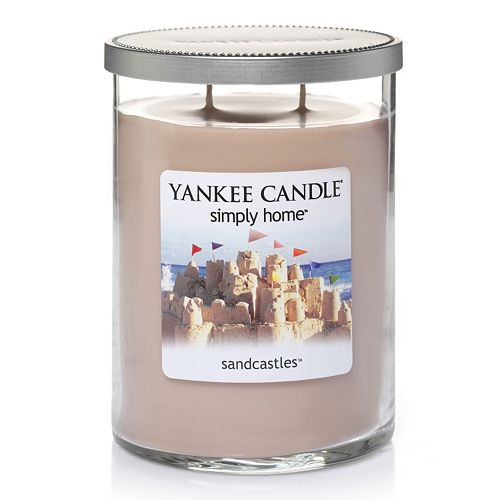 Yankee Candle simply home 19-oz. Sandcastles Jar Candle
