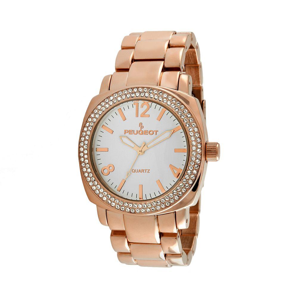 Peugeot Women's Crystal Watch - 7075RG