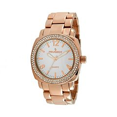 Peugeot Women's Crystal Watch - 7075RG