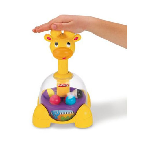 Playskool Poppin' Park Giraffalaff Tumble Top by Hasbro