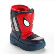Spider-Man Snowy Light-Up Winter Boots - Toddler Boys